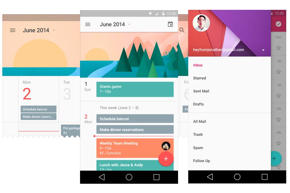 Material Design Chrome – Mobile Jazz Blog