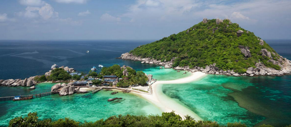 Working  Remotely From A Tropical Island In Thailand.