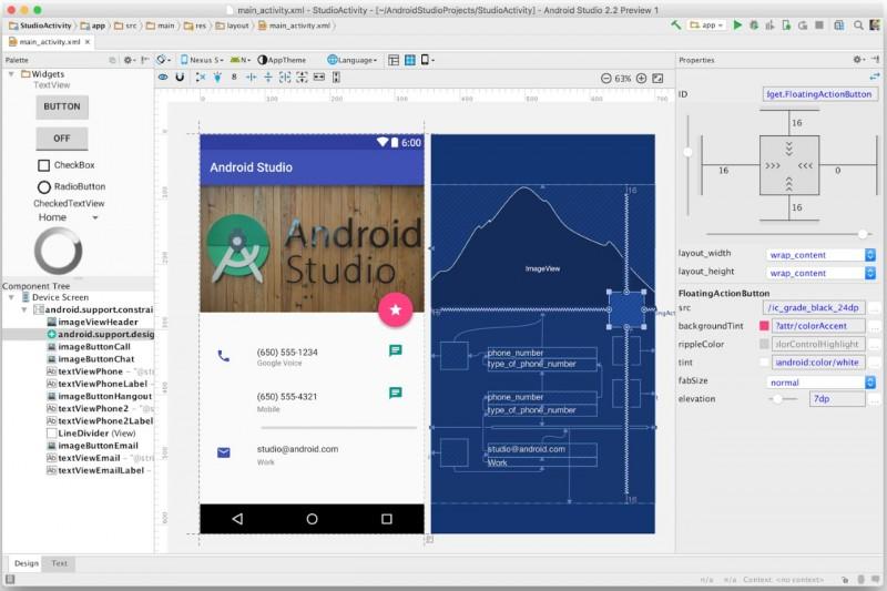 Android studio как сделать кнопку