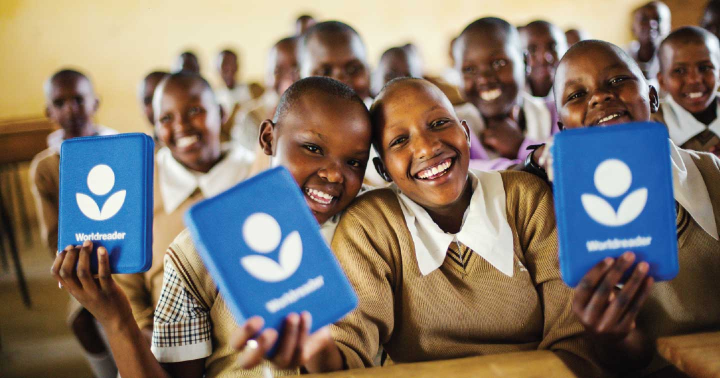 Worldreader is one of our proudest projects.